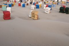 Isla Borkum de Mar del Norte Imágenes de archivo libres de regalías