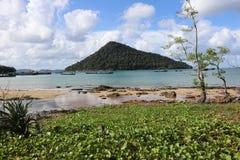 Isla camboyana Foto de archivo libre de regalías