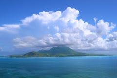 Isla caribeña de Nieves Fotografía de archivo