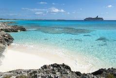 Isla caribeña que visita Fotos de archivo libres de regalías