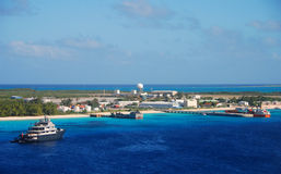 Isla caribeña exótica Fotos de archivo libres de regalías