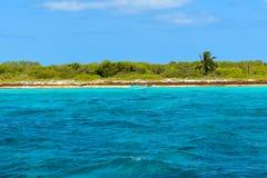 Isla Catalina na República Dominicana fotografia de stock
