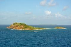 Isla cerca de St Thomas, U S Islas Vírgenes fotos de archivo