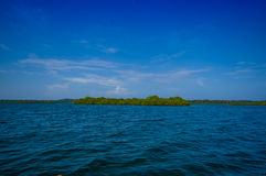 ISLA COLON, PANAMA - APRIL 25, 2015 : Colon Island Royalty Free Stock Photography