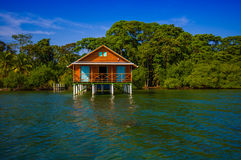 ISLA COLON, PANAMA - APRIL 25, 2015 : Colon Island Royalty Free Stock Photo