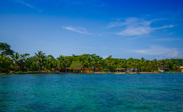 ISLA COLON, PANAMA - APRIL 25, 2015 : Colon Island Stock Image