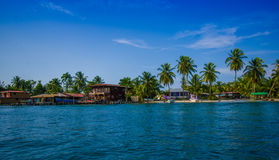 ISLA COLON, PANAMA - APRIL 25, 2015 : Colon Island Royalty Free Stock Images