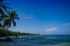 ISLA COLON, PANAMA - APRIL 25, 2015 : Colon Island Royalty Free Stock Photos