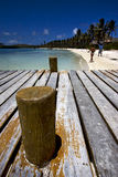 isla contoy Мексика, гавань Стоковое Фото