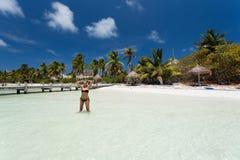 Isla Contoy en México Imagen de archivo