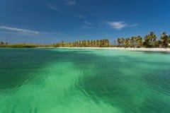 Isla Contoy en México Fotografía de archivo libre de regalías