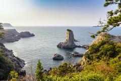 Isla Corea de Jeju Imágenes de archivo libres de regalías
