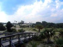 Isla costera Imagenes de archivo