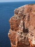 Isla costera Helgoland Imagen de archivo libre de regalías