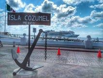 Isla Cozumel royalty free stock photos