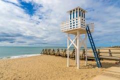 Isla Cristina, Lifeguard Tower Royalty Free Stock Images