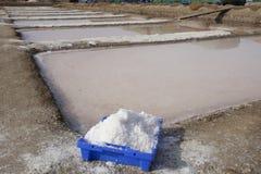 Isla Cristina-saltworks, Huelva, Spanje royalty-vrije stock foto's