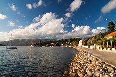 Isla croata Fotografía de archivo libre de regalías