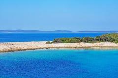 Isla croata Losinj en el mar adriático Fotos de archivo libres de regalías