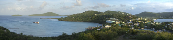 Isla Culebra panoramic scenic view Royalty Free Stock Photo