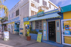 Isla Culebra tourist shops Stock Photo