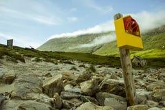 Isla de Achill Foto de archivo libre de regalías