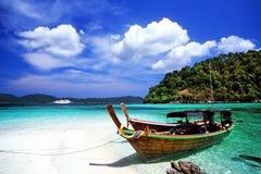 Isla de Adang-Rawi Imagenes de archivo