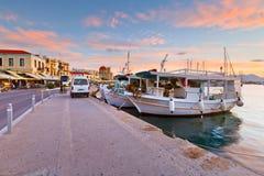 Isla de Aegina Fotografía de archivo