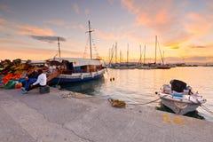 Isla de Aegina Imagen de archivo libre de regalías