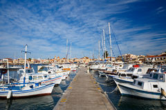 Isla de Aegina Imagenes de archivo