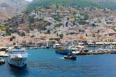 Isla de Aegina - Grecia Imagenes de archivo