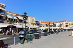 Isla de Aegina - Grecia Fotos de archivo libres de regalías