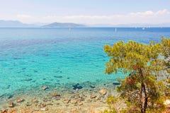 Isla de Aegina, Grecia Fotografía de archivo libre de regalías