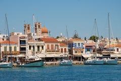 Isla de Aegina, Grecia Imagenes de archivo