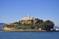 Isla de Alcatraz Foto de archivo libre de regalías