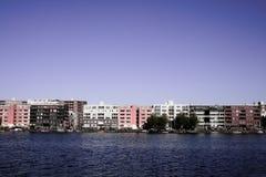 Isla de Amsterdam Java Fotos de archivo