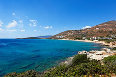 Isla de Andros, Grecia Imagenes de archivo