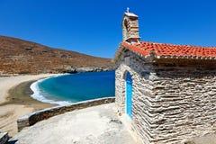 Isla de Andros, Grecia Imágenes de archivo libres de regalías