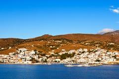 Isla de Andros, Grecia Fotos de archivo