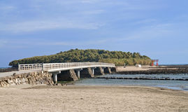 Isla de Aoshima fotografía de archivo