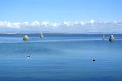 Isla de Arran de la playa de Irlanda Foto de archivo libre de regalías