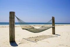 Isla de Bahama magnífica de la hamaca Imagen de archivo libre de regalías