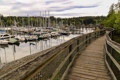 Isla de Bainbridge, Washington Foto de archivo libre de regalías