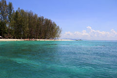 Isla de bambú, Krabi Foto de archivo
