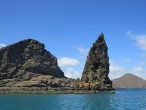 Isla de Bartolome Foto de archivo