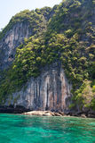 Isla de Beautifil en el parque marina nacional de la correa del ANG Imagenes de archivo