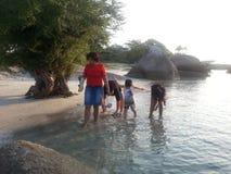 Isla de Belitong Imagen de archivo libre de regalías