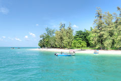 Isla de Beras Basah, Langkawi, Malasia imagen de archivo libre de regalías