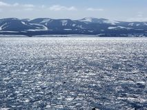 Isla de Bering el mar de Bering, comandante Islands Imagen de archivo libre de regalías
