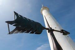 Isla de Bermudas del faro Foto de archivo libre de regalías